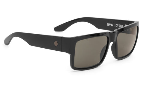 Spy Cyrus Matte Black with Happy Grey Green Lens 673180374863