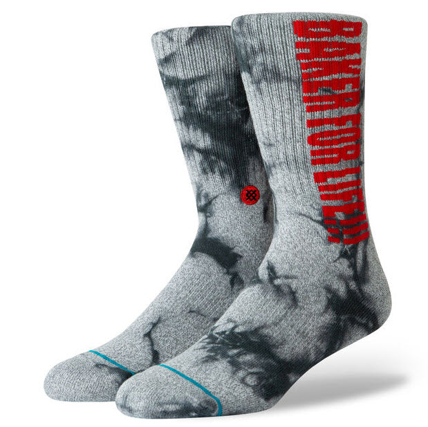 Stance Baker For Life Grey Socks M556A19BFL Famous Rock Shop Newcastle, 2300 NSW. Australia. 1