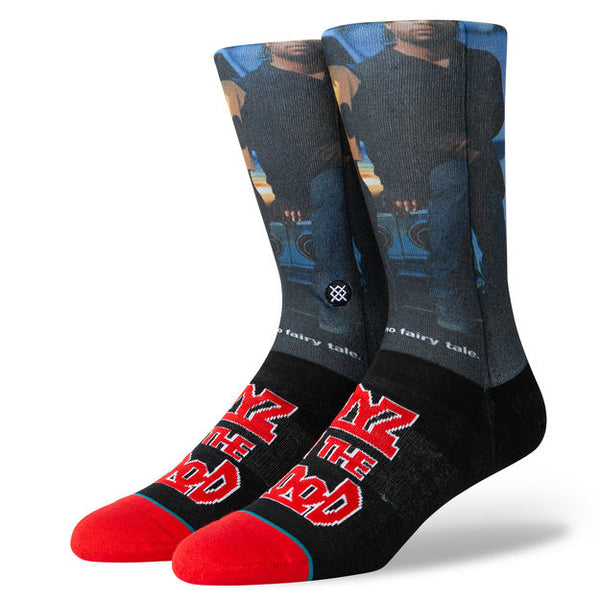 Stance Boys in the Hood Black Crew Socks M545A19BIH Famous Rock Shop Newcastle 2300 NSW Australia