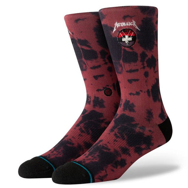 Stance Metallica Master Of Puppets Socks Red U55D19MAS Famous Rock Shop Newcastle, 2300 NSW. Australia. 1