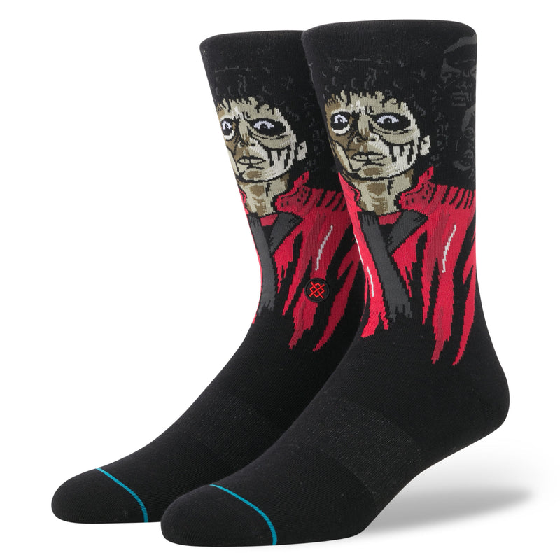 "Stance Michael Jackson Thriller Black Crew Socks M545D17THR Starting on November 14, 1983, the short film,""Michael Jackson's Thriller"", had a limited theatrical exhibition in Los Angeles and New York followed by its premiere on television on December 2, 1983. The nearly 14-minute short film took Michael's film making p Famous Rock Shop Newcastle 2300 NSW Australia"