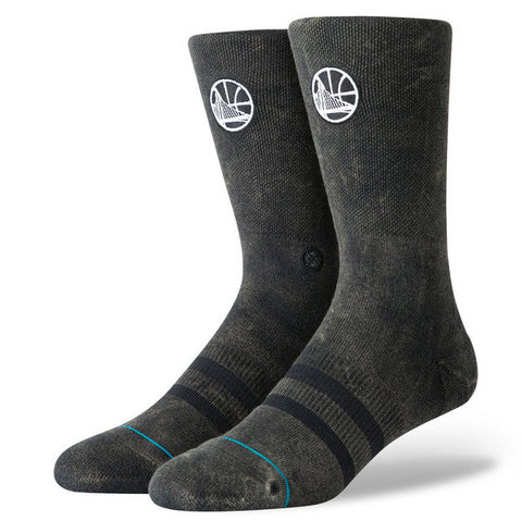 Stance NBA Casual Warriors Blacktop Socks M556A19WAR Famous Rock Shop Newcastle, 2300 NSW. Australia. 1