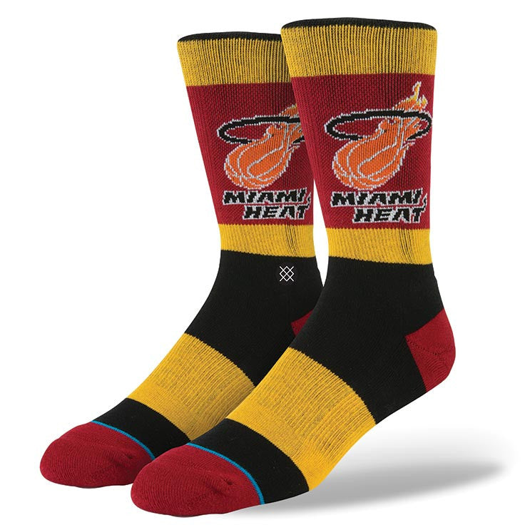 Stance NBA Heat 2 Socks M3110HEA