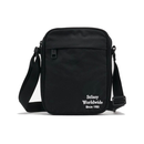 Stussy Emblem messenger bag ST796011 Black  Famous Rock Shop Newcastle 2300 NSW Australia