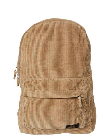 Stussy Lindeman Cord Beachpack Dark Tan ST705025 Famous Rock Shop Newcastle 2300 NSW Australia