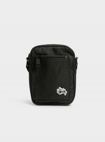Stussy Messenger Bag Black ST783013 Famous Rock Shop Newcastle 2300 NSW. Australia. 1