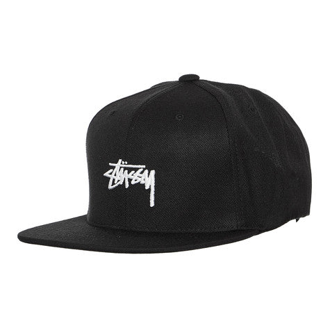 Stussy Stock Snapback Black ST783000 Famous Rock Shop Newcastle 2300 NSW Australia