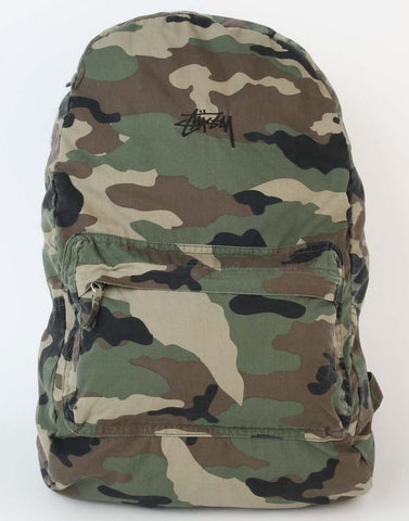 Stussy Camo Backpack