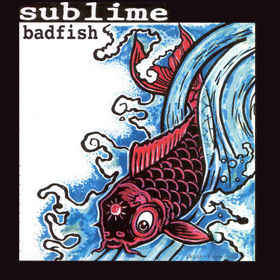 Sublime Bad Fish 45 RPM Famous Rock Shop Newcastle NSW Australia