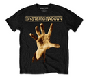 System of a Down - Hand T-Shirt Famous Rock Shop. 517 Hunter Street Newcastle 2300 NSW. Australia