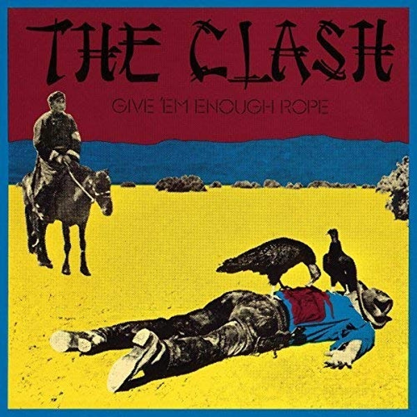 The Clash Give em Enough Rope MOV Vinyl LP