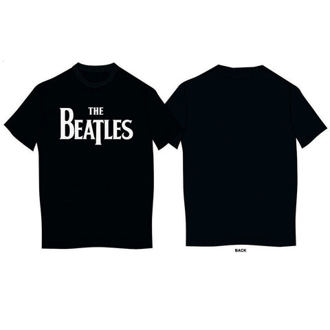 The Beatles Kid's Tee Black