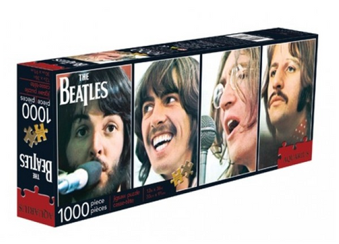 "The Beatles Let It Be Poster 1000 Piece Jigsaw Puzzle 12"" x 36"""