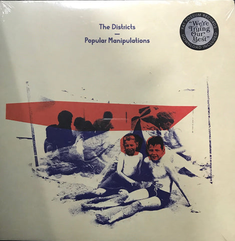 The  Districts Popular Manipulations Orange Vinyl