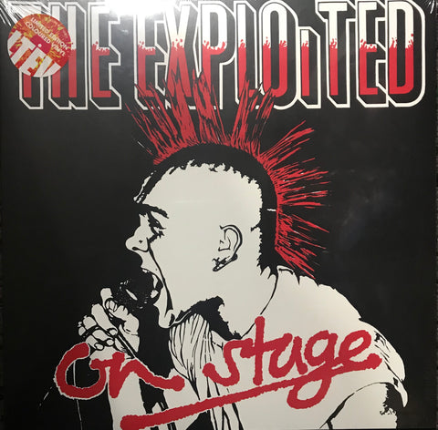 The Exploited On Stage Limited Edition Coloured Vinyl Famous Rock Shop 517 Hunter Street Newcastle 2300 NSW Australia