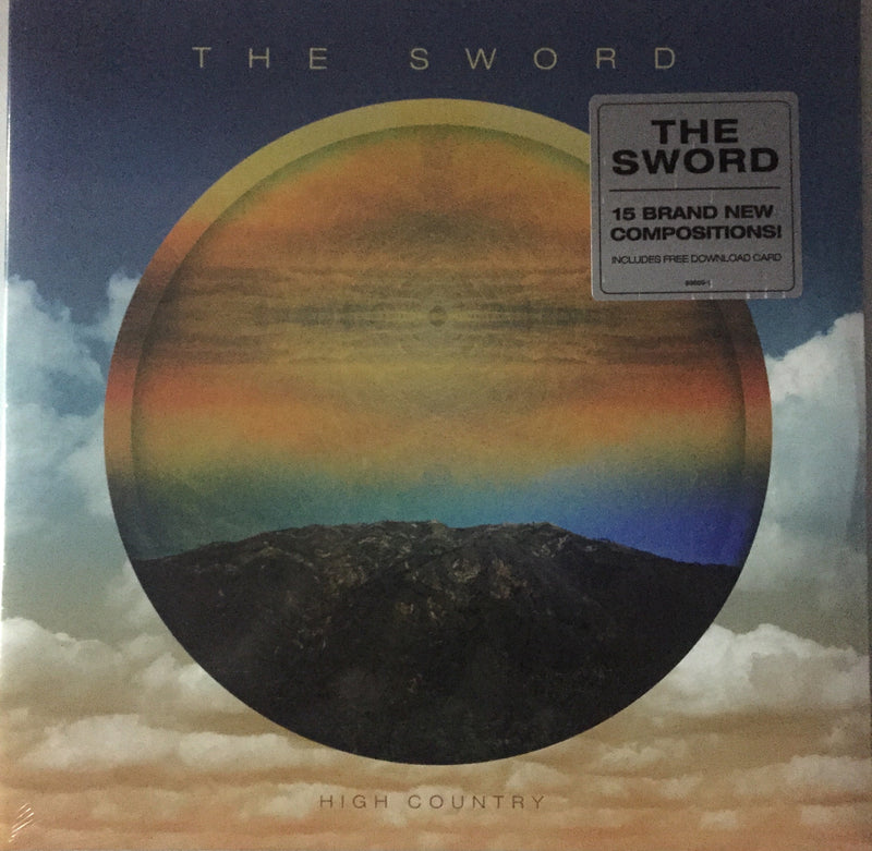 The Sword 'High Country' Vinyl Record. 1. Unicorn Farm 2. Empty Temples 3. High Country 4. Tears Like Diamonds 5. Mist & Shadow 6. Agartha 7. Seriously Mysterious 8. Suffer No Fools 9. Early Snow Famous Rock Shop. 517 Hunter Street Newcastle, 2300 NSW Australia