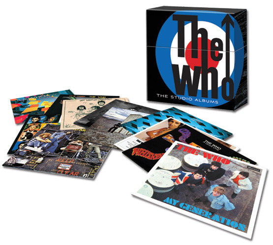 The Who The Studio Albums 180 gram Vinyl Box Set Famous Rock Shop Newcastle. 517 Hunter Street Newcastle, 2300 NSW Australia