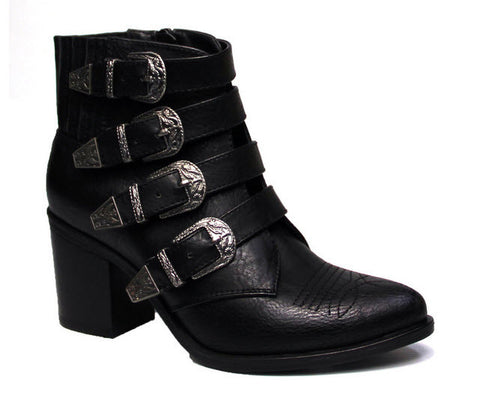 Therapy Bexar Black Leather Boot
