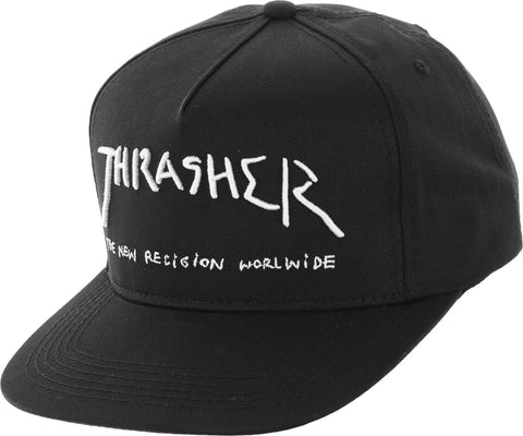 Thrasher New Religion Black 144509