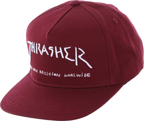 Thrasher New Religion Maroon 144514