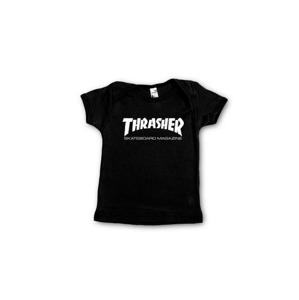 Thrasher Skate Mag Infant T-Shirt Black 134104612 Famous Rock Shop Newcastle, 2300 NSW. Australia. 1