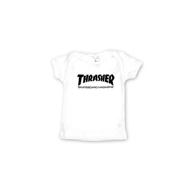 Thrasher Skate Mag Infant T-Shirt White 134104612 Famous Rock Shop Newcastle, 2300 NSW. Australia. 1