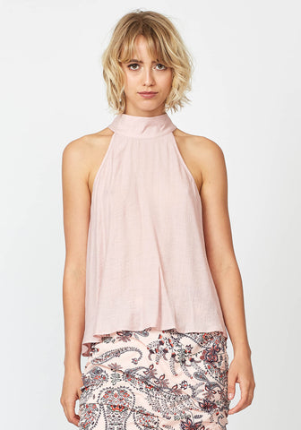 Three Of Something Sweet November Top Pink