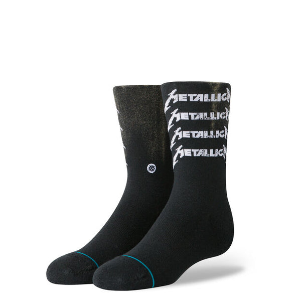 Stance Metallica Stack Crew Classic Black U556D19MES DESCRIPTION Fade to black with a solid stack of Metallica logos on our 200 Everyday construction for your loudest little headbanger. The perfect accompaniment to any double bass pedal. FEATURES Elastic Arch Support Reinforced Heel & Toe Seamless Toe Closure PRODUCT CARE Machine Wash in 40 °C / 104 °F. Avoid Bleaching or Ironing the socks. Socks will last longer if you keep them out of the dryer. Famous Rock Shop Newcastle 2300 NSW Australia