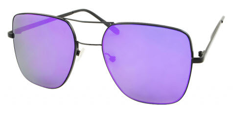 Unity Haze Matte Black/Purple Sunglasses