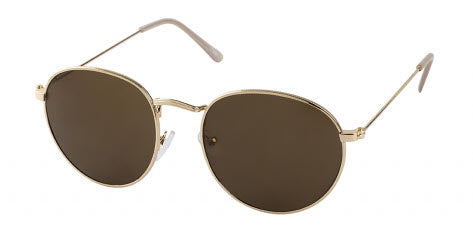 Unity Round Sunglasses Gold Brown Famous Rock Shop Newcastlem, 2300 NSW. Australia. 1