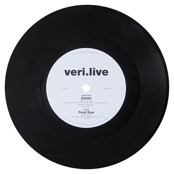 veri.live 20 - Inc 7 4 Way Vinyl Split feat. A.D.Skinner, Young Liberals, Angry Seas & FLOUR