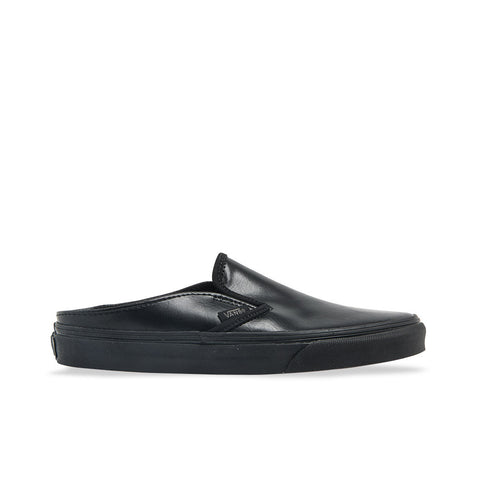 Vans Classic Slip-On Mule ( Leather ) Black Black VN0004KTL3B