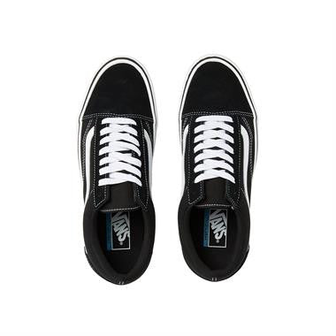 Vans Old Skool Lite+ (Suede / Canvas) Black/ White