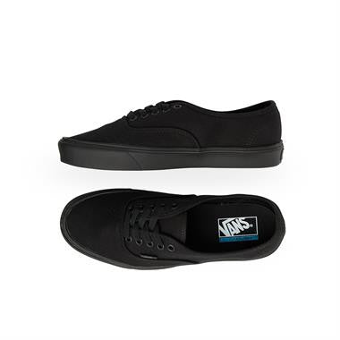 Vans Authentic Lite+ Black / Black The all new Vans Authentic Lite is a reworked and updated version of the ever popular original. Using new construction methods, the Lite has improved comfort, increased flexibility and is so light in weight you'll feel like you're walking on air! Featuring a canvas upper, UltraCush Li  Famous Rock Shop Newcastle 2300 NSW Australia
