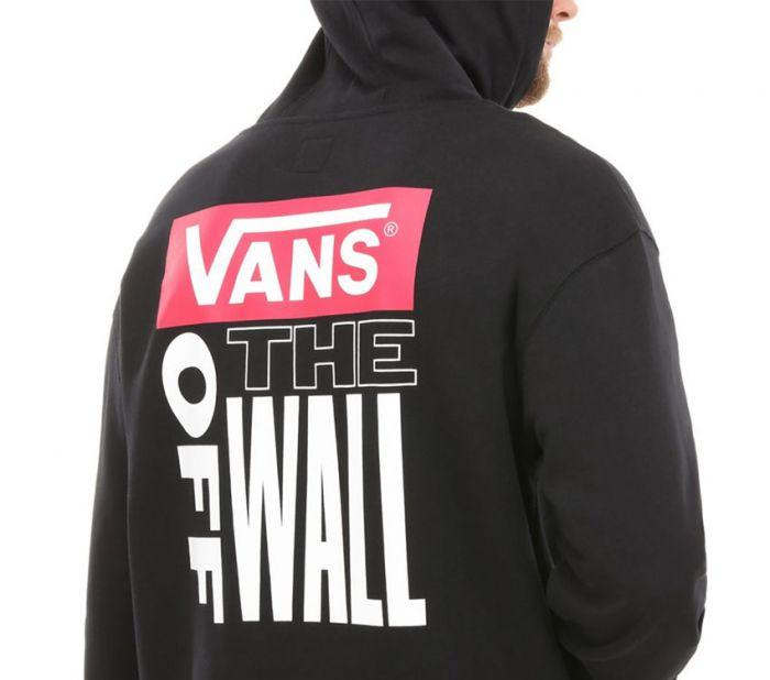 Vans Retro Tall Type Black Hoodie VN0A3W2PBLK Famous Rock Shop Newcastle 2300 NSW Australia 1