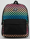 Vans Realm Classic B Gradient Check Backpack VN0A3UI7YBL Famous Rock Shop Newcastle, 2300 NSW. Australia. 1