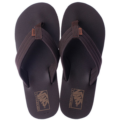 Vans 204 Men's Thongs Coffee Bean/Dachshund VN-0ZTEFRM