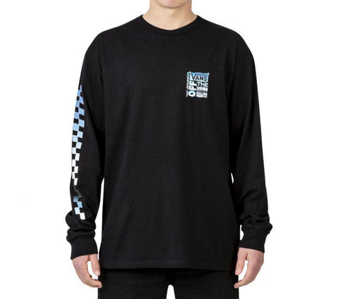 Vans AVE Chrome Longsleeve Black VNA454CBLK Famous Rock Shop Newcastle 2300 NSW Australia