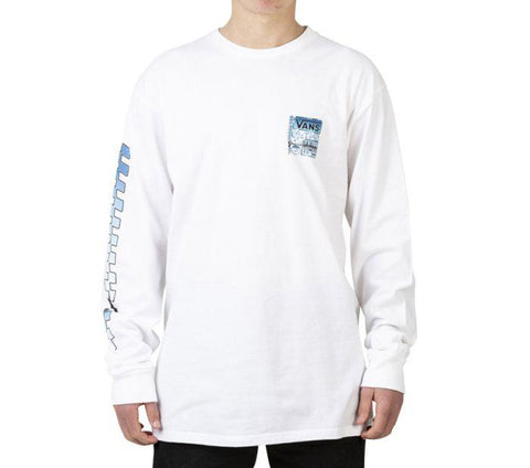 Vans AVE Chrome Longsleeve White VNA454CWHT Famous Rock Shop Newcastle 2300 NSW Australia