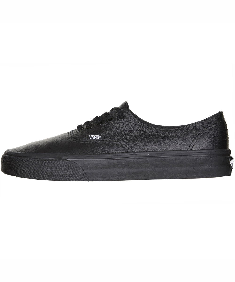 3183c4b3a0c9 Vans Authentic Decon Premium Leather Black Black VN-018CGKM Famous Rock  Shop Newcastle 2300 NSW ...