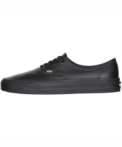 Vans Authentic Decon Premium Leather Black Black VN-018CGKM Famous Rock Shop Newcastle 2300 NSW Australia