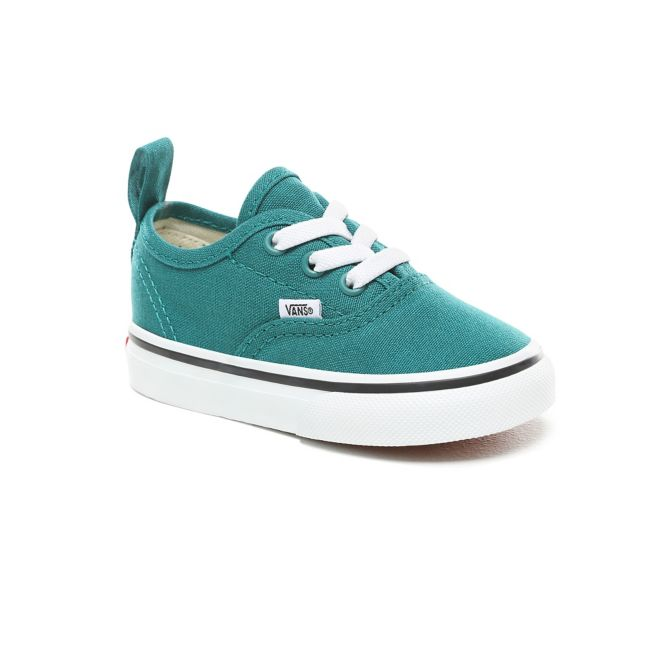1e3b16fa92cc80 Vans Authentic Toddler Elastic Quetzal Green and True White. Previous  Product
