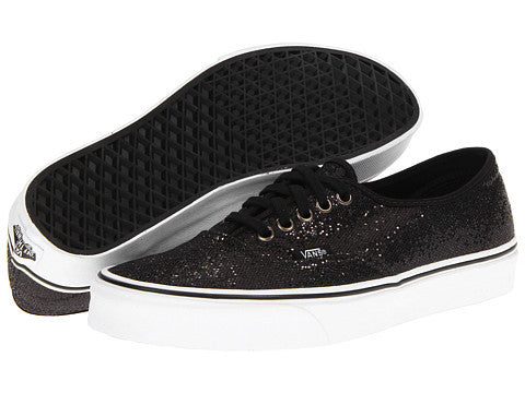Vans Authentic (Glitter) Black Micro Dots