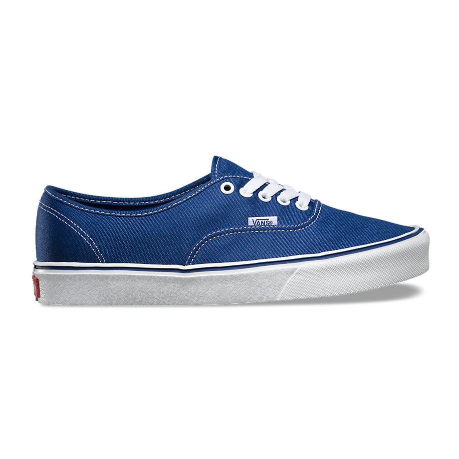 701bdd6fc24 Vans Authentic Lite+ Canvas Navy VN-00040QIP0 Light Weight style of the  original design.