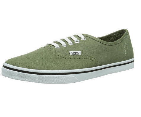 33b4c919a89e Vans Authentic Lo-Pro Olivine True White VN-OW7NDRO Women s Vans trainers  Woven ...