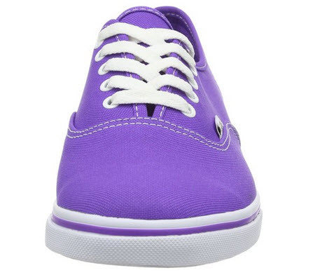 Vans Authentic Lo-Pro (Neon) Electric Purple VN-0T9NB9Q Women's lo-pro shoes Canvas upper Outer Material: Canvas Inner Material: Textile Lace-up fastening Waffle rubber sole Vans flag label on outer side Famous Rock Shop Newcastle 2300 NSW Australia