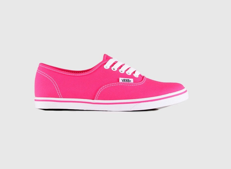 Famous Rock Shop - Vans Authentic Lo Pro (Neon) Pink Glow Shoe.    Famous Rock Shop Newcastle 2300 NSW Australia