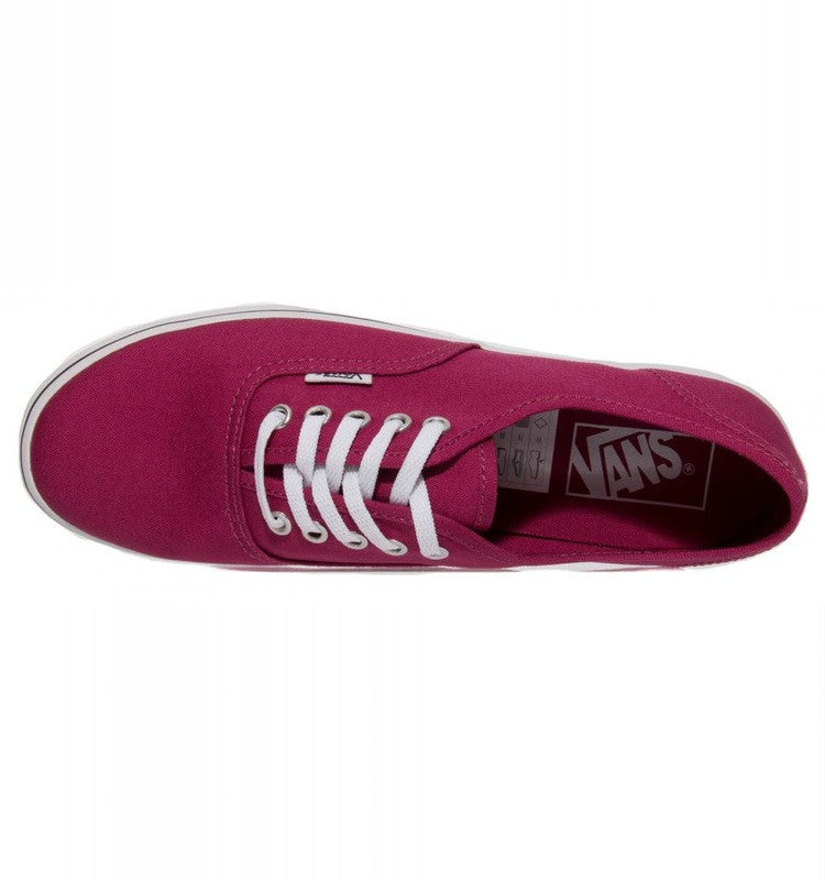 Vans Authentic Lo Pro Sangria/True White Famous Rock Shop Newcastle, 2300 NSW Australia