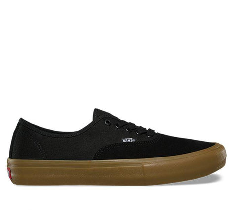 Vans Authentic Pro Black Gum VN00Q0DDUM Famous Rock Shop Newcastle, 2300 NSW. Australia. 1