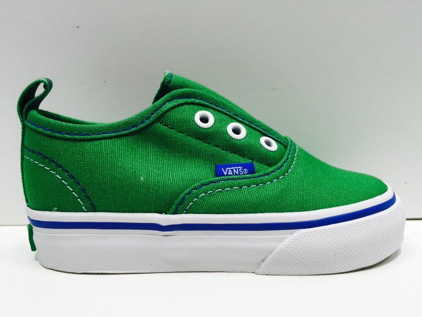 Vans Authentic V (Pop) Fern Green  Blue Infants VN-ORQ27OV Famous Rock ... 4092732a3f